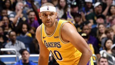 Jared Dudley, alero de Los Lakers.