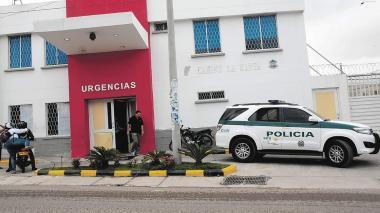 El herido fue trasladado al Camino La Manga.