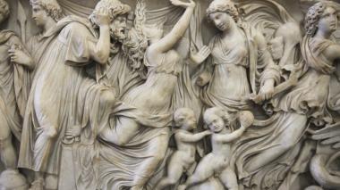 Estatua de Medea en el Museo de Pérgamo en Alemania.