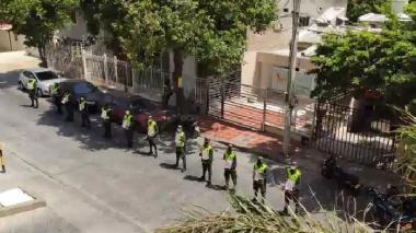 Barrio a barrio, Policía agasaja a madres samarias en su día