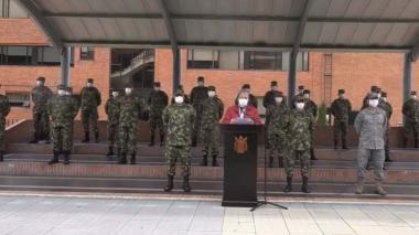 Ministro de Defensa, Carlos Holmes Trujillo, llama a la cohesión de las Fuerzas Militares