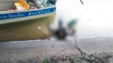 Rescatan cuerpo de una mujer que flotaba en el río Sinú