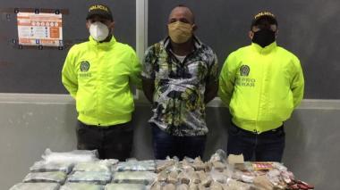Hallan cargamento de drogas en una casa en Santa María