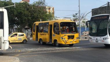 Accidente en la Murillo: bus de Transmecar choca con un articulado de Transmetro