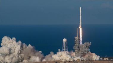 El lanzamiento del cohete Falcon está previsto para el próximo martes.