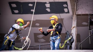 El 82% de proyectos de edificación en el país están en actividades: Camacol