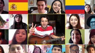 Yatra protagoniza encuentro virtual con jóvenes de la fundación Scholas