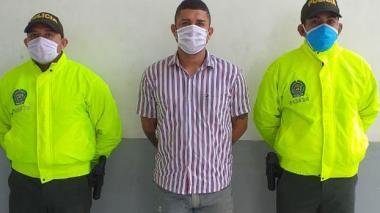 Javier Alberto Yanez Meza, capturado.
