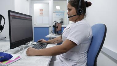 Centro de Telesalud del Atlántico también brinda apoyo en salud mental