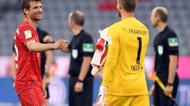 """""""Claro que me gustaría tener público, pero mi trabajo es jugar fútbol"""": Müller"""