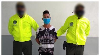 Capturado por el homicidio de un hombre en Nueva Colombia