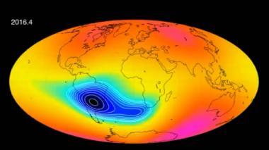 Agencia Espacial Europea registra debilitamiento de campo magnético de la Tierra