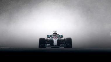 Un monoplaza de la Fórmula Uno.