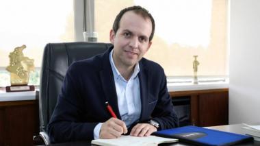 Ernesto Lucena, ministro de Deportes.