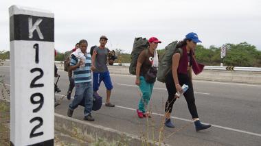Cifras de migrantes venezolanos en el mundo puede subir a 7 millones: Duque