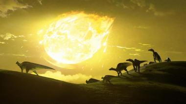 Según la investigación, el asteroide cayó con un angulo entre 45 y 60 grados sobre el suelo.