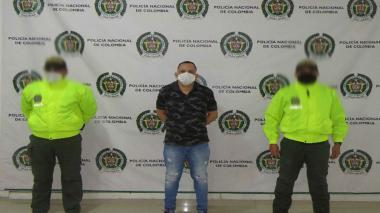 Cae presunto bacrim en procedimiento policial en Montería