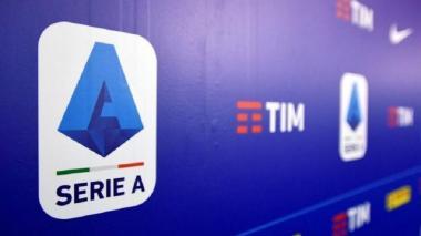 Logo de la Serie A de Italia.