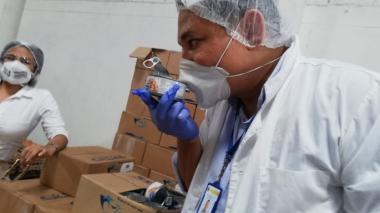 Distrito inspecciona paquetes nutricionales del PAE en Cartagena