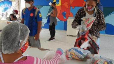 Entregan paquetes nutricionales para 34.663 niños y niñas de Cartagena