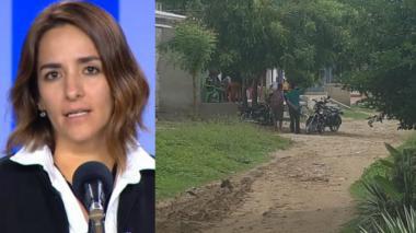 La directora del ICBF, Lina Arbeláez, se pronunció sobre los ocurrido en el barrio Las Mercedes de Sabanalarga.