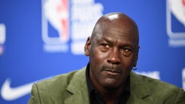 El exjugador de baloncesto Michael Jordan.