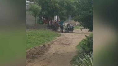 El atentado se registró en barrio Las Mercedes del municipio de Sabanalarga, el sábado en la noche.