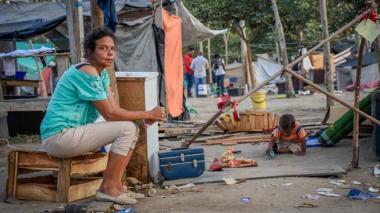 La extrema pobreza de muchas mujeres migrantes las hace más vulnerables al contagio por coronavirus.