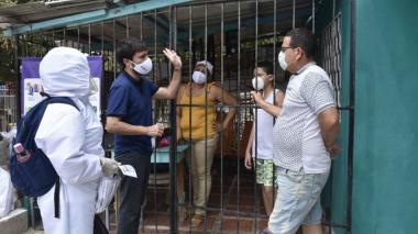 Con los caminantes de la salud, las autoridades del Distrito realizarán la búsqueda de los casos.