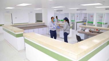 El centro especializado para la COVID-19 (el Cari ESE) fue habilitado por la Gobernación del Atlántico para los pacientes que requieran una UCI.