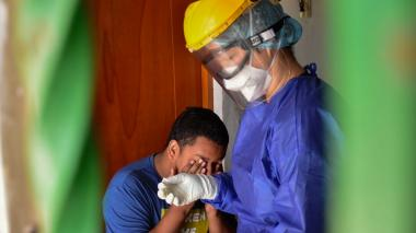 Avanza la detección temprana de casos en barrios de Barranquilla