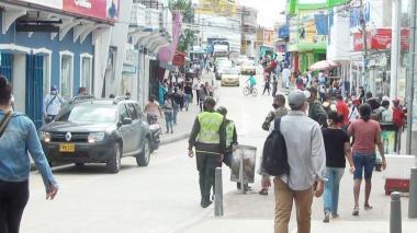 Se reactivó el comercio en el Centro en Sincelejo
