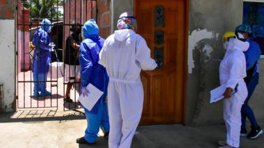 En Barranquilla se realiza la búsqueda activa de pacientes asintomáticos.