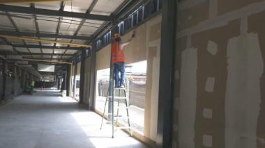 Trabajador del sector de la construcción.