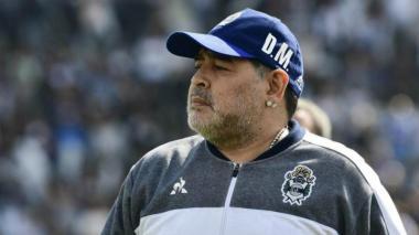 La continuidad de Maradona en Gimnasia está en riesgo por temas contractuales