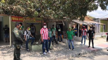 La Fifa hace reconocimiento a hinchas de Junior y Nacional