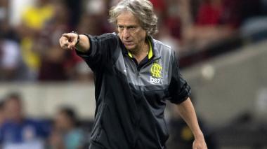 Jorge Jesus, entrenador del Flamengo.