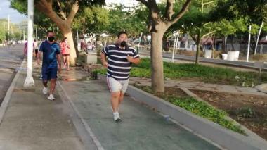 Nuevas disposiciones para hacer ejercicios al aire libre en Santa Marta