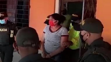 En video | Cae señalada de amenazar a lideresa social de El Salado