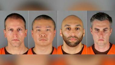 Fiscal endurece cargos contra policía y acusa a otros 3 por muerte de Floyd
