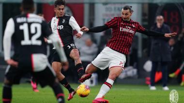 Juventus y Milan protagonizarán una de las semifinales de la Copa de Italia.