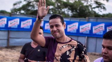 El fallecido cantante vallenato Martín Elías Díaz.