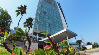Fachada del Hotel Estelar en Barranquilla.