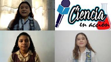 Estudiantes de secundaria lanzan noticiero científico en época de pandemia