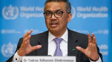 Tedros Adhanom, director de la OMS.