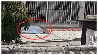 Identifican a mujer que se desplomó y murió en vía pública