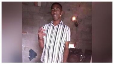 Jader Enrique Miranda Rodríguez, de 26 años, asesinado.