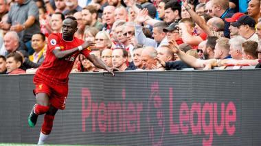 Sadio Mané, figura del Liverpool.