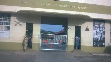 Sede del batallón Santa Bárbara, ubicado en el municipio de Distracción.