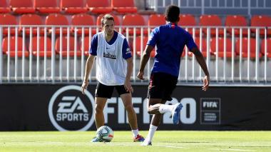 """""""Ya queríamos regresar y jugar, hacía mucha falta"""": Santiago Arias"""